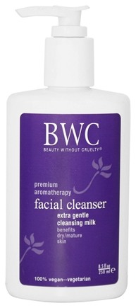 Beauty Without Cruelty - Facial Cleansing Milk - Soap Free - 8.5 oz.