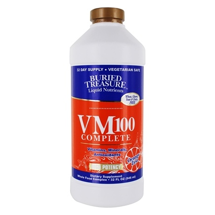 Buried Treasure Products - VM-100 Complete Liquid Vitamin - 32 oz.