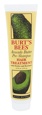 Burt's Bees - Pre-Shampoo Hair Treatment with Avocado Butter - 4.34 oz.