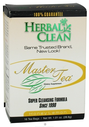 DROPPED: BNG Enterprises - Herbal Clean Master Tea Honey Lemon - 16 Tea Bags
