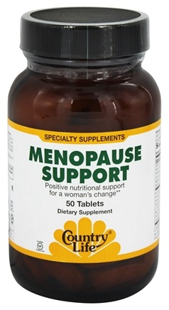 Country Life - Menopause Support - 50 Tablets Formerly Biochem
