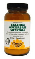 DROPPED: Country Life - Calcium Ascorbate Crystals - 4 oz.