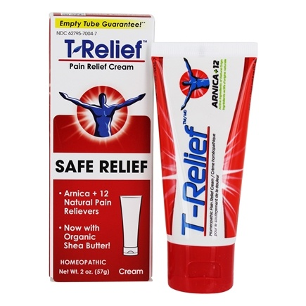 MediNatura - T-Relief Ointment Arnica +12 Natural Ingredients - 1.76 oz. Formerly BHI/Heel - Traumeel Ointment