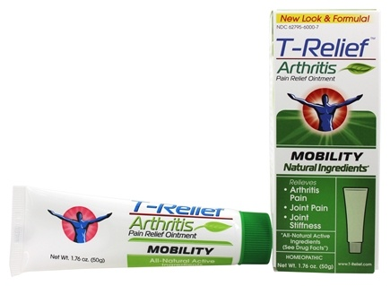 MediNatura - T-Relief Arthritis Mobility Pain Relief Ointment - 1.76 oz. Formerly BHI/Heel Zeel Ointment/LUCKY PRICE