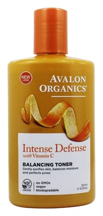 Avalon Organics - Vitamin C Renewal Balancing Toner - 8.5 oz. (Formerly Skin Nourishing Sun-Aging Defense)