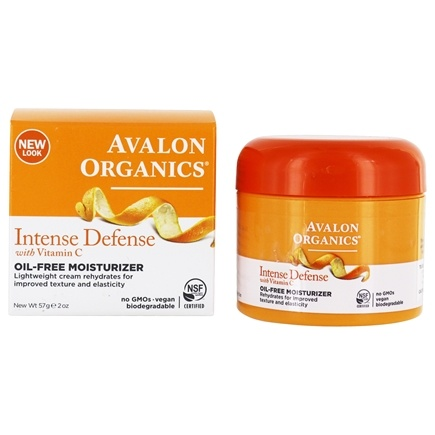 Avalon Organics - Vitamin C Renewal Rejuvenating Oil-Free Moisturizer - 2 oz. (Formerly Skin Nourishing Sun-Aging Defense)