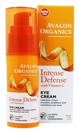 Avalon Organics - Intense Defense with Vitamin C Eye Cream - 1 oz.