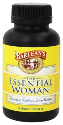 Barlean's - The Essential Woman 1000 mg. - 60 Softgels