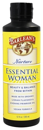 Barlean's - The Essential Woman Oil Nurture - 12 oz.