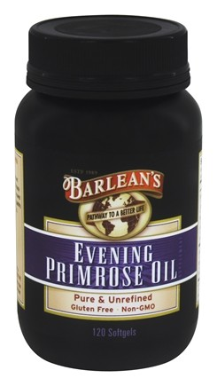 Barlean's - Organic Evening Primrose Oil 1300 mg. - 120 Capsules