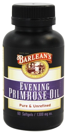 Barlean's - Organic Evening Primrose Oil 1300 mg. - 60 Capsules