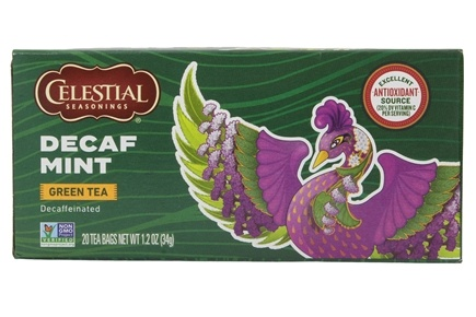 Celestial Seasonings - Decaf Mint Green Tea - 20 Tea Bags