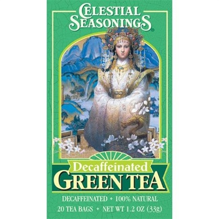 DROPPED: Celestial Seasonings - Decaffeinated Green Tea - 20 Tea Bags CLEARANCE PRICED