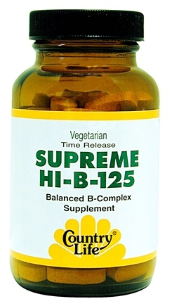 DROPPED: Country Life - Supreme HI-B-125 - 90 Tablets