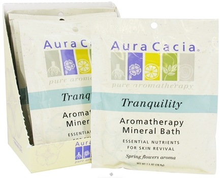 DROPPED: Aura Cacia - Aromatherapy Mineral Bath Tranquility - 2.5 oz. CLEARANCE PRICED