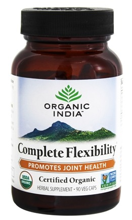 Organic India - Complete Flexibility Joint Mobility & Support - 90 Vegetarian Capsules