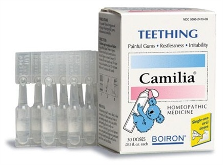 DROPPED: Boiron - Camilia Teething Homeopathic Medicine - 30 Dose(s)