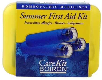 DROPPED: Boiron - Summer First Aid Kit - 3 Tubes