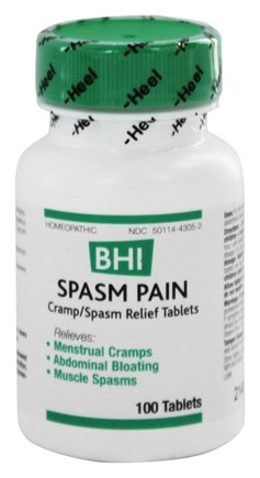 BHI/Heel - Spasm-Pain - 100 Tablets
