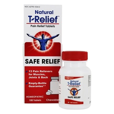 MediNatura - T-Relief Pain Relief - 100 Tablet(s) Formerly BHI/Heel Traumeel Pain Relief/LUCKY PRICE