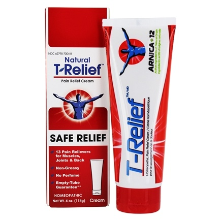 MediNatura - T-Relief Ointment Arnica +12 Natural Ingredients - 3.53 oz. Formerly BHI/Heel - Traumeel Ointment