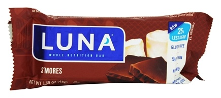 Clif Bar - Organic Luna Nutrition Bar For Women S'Mores - 1.69 oz.
