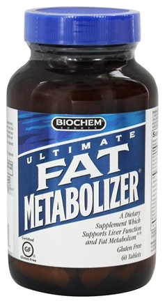 Biochem by Country Life - Ultimate Fat Metabolizer - 60 Tablets