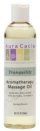 DROPPED: Aura Cacia - Aromatherapy Body Oil Tranquillity - 8 oz.