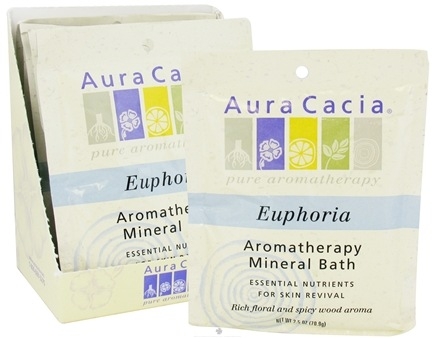 DROPPED: Aura Cacia - Aromatherapy Mineral Bath Euphoria - 2.5 oz. CLEARANCE PRICED