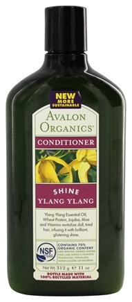 DROPPED: Avalon Organics - Conditioner Shine Ylang Ylang - 11 oz.