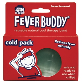 DROPPED: Boo Boo Buddy - Fever Buddy Reusable Natural Cool Therapy Band