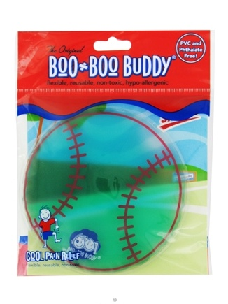 DROPPED: Boo Boo Buddy - Reusable Cold Pack Sport Designs Baseball - CLEARANCE PRICED