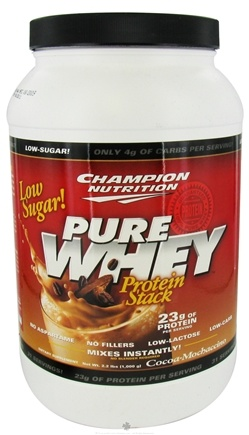 DROPPED: Champion Performance - Pure Whey Protein Stack Cocoa-Mochaccino - 2.2 lbs. CLEARANCE PRICED