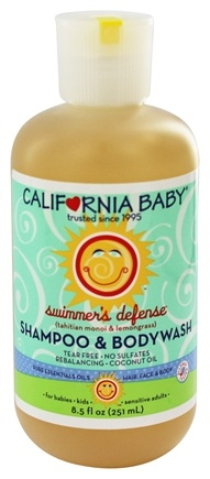 California Baby - Aromatherapy Shampoo & Bodywash Swimmer's Defense - 8.5 oz.
