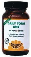 DROPPED: Country Life - Daily Total One Maxi-Sorb with Iron - 30 Vegetarian Capsules