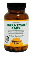 DROPPED: Country Life - Maxi-Zyme Caps Extra Strength - 30 Capsules
