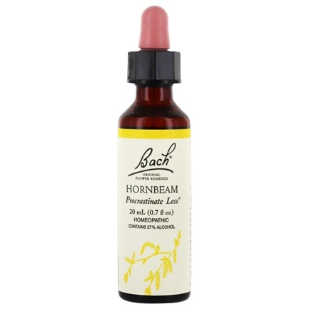 Bach Original Flower Remedies - Hornbeam - 20 ml.