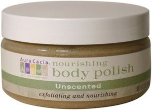 DROPPED: Aura Cacia - Nourishing Body Polish Unscented - 8 Oz.