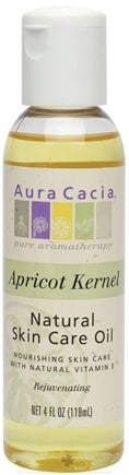 DROPPED: Aura Cacia - Certified Organic Skin Care Oil Apricot Kernel - 4 oz.