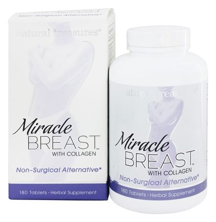 BNG Enterprises - Natural Treasures Miracle Breast - 180 Tablets