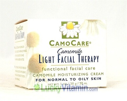 DROPPED: CamoCare Organics - Camomile Light Facial Therapy Moisturizing Cream - 1 oz.
