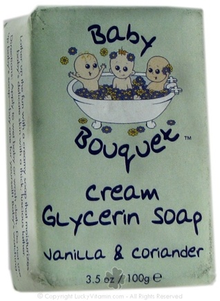 DROPPED: Baby Bouquet - Cream Glycerin Soap- Vanilla & Coriander - 3.5 Oz.