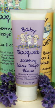 DROPPED: Baby Bouquet - Soothing Baby Diaper Balm - 2.5 Oz.
