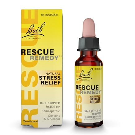 Bach Original Flower Remedies - Rescue Remedy - 10 ml.