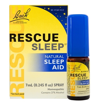 Bach Original Flower Remedies - Rescue Remedy Sleep Natural Sleep Aid - 7 ml.