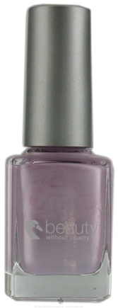 DROPPED: Beauty Without Cruelty - Nail Color High Gloss Silver Lilac - 0.37 oz. CLEARANCE PRICED