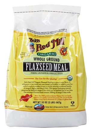 Bob's Red Mill - Organic Flaxseed Meal Whole Ground - 32 oz.