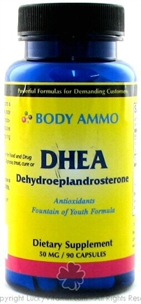 DROPPED: Body Ammo - DHEA 50 mg. - 90 Capsules