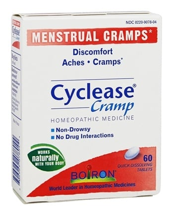 DROPPED: Boiron - Cyclease Cramp - 60 Tablets
