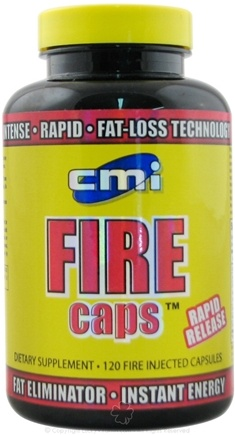 DROPPED: CMI Nutrition - FIRE Caps - 120 Capsules